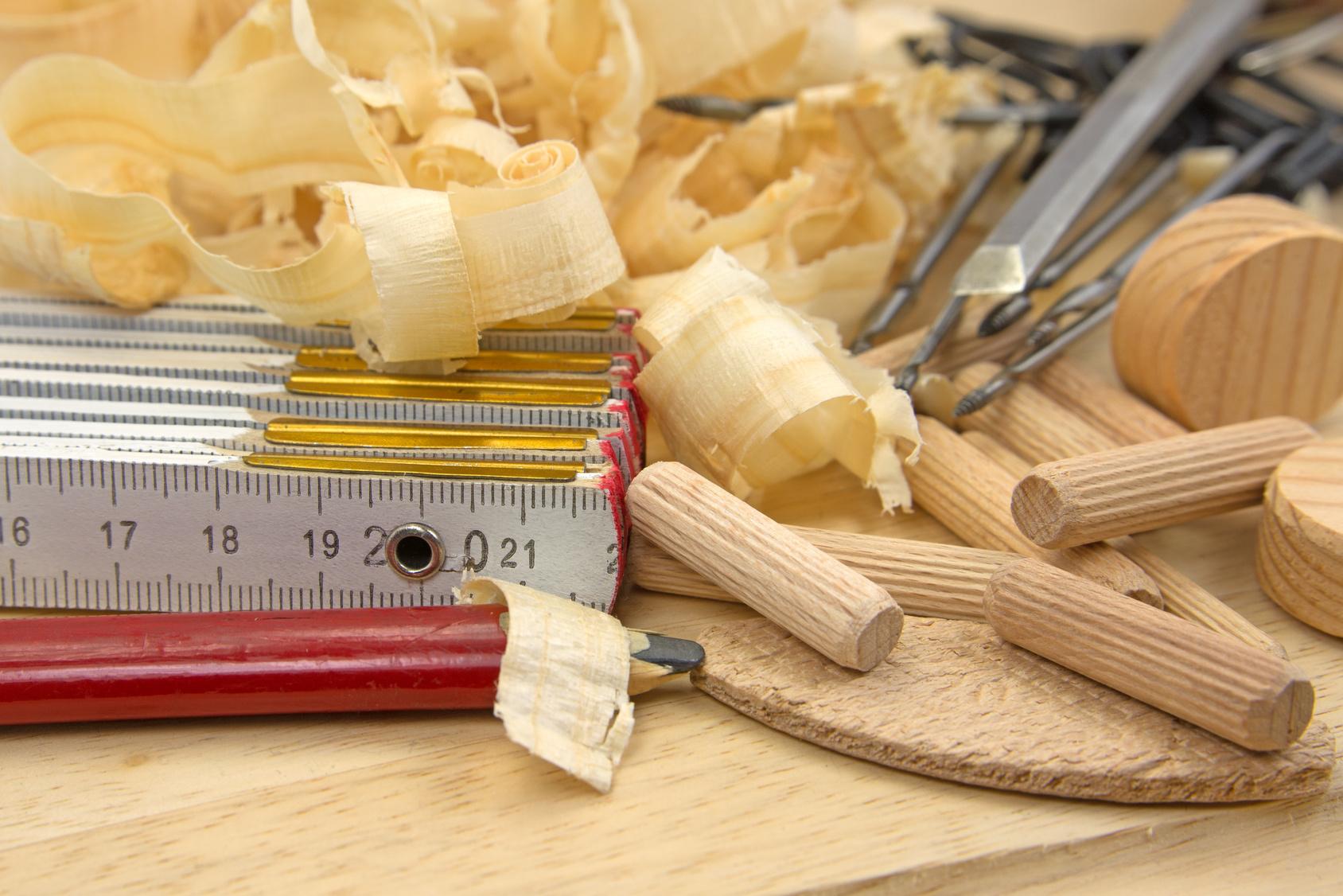 Abgebrochene Holzdübel entfernen ganz einfach!