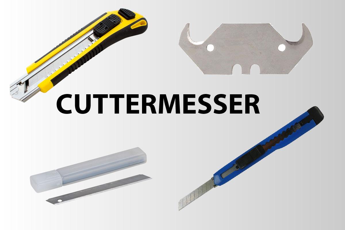 Das richtige Cuttermesser finden
