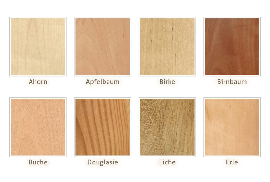 Holzarten heimisches Holz