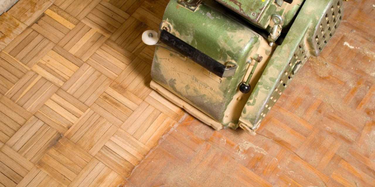 parkett abschleifen - eine anleitung - theo schrauben blog