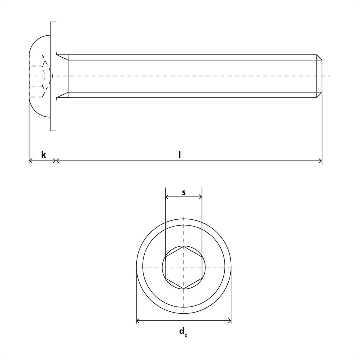 ISO 7380 Skizze