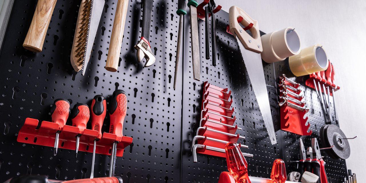 Werkzeugaufbewahrung leicht gemacht