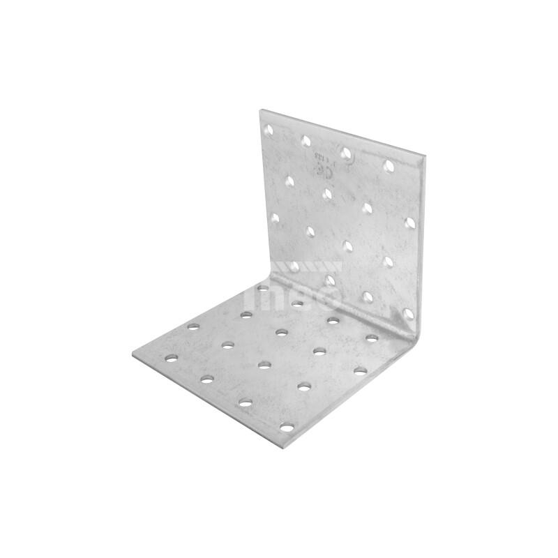 Winkel Holzverbinder 40x40x60x2,0 mm 10 Stück Winkelverbinder Lochplatten