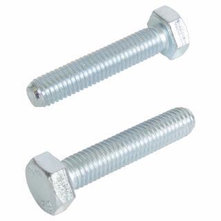 Sechskantschrauben 8.8 mit Gewinde bis Kopf DIN 933 galv verzinkt M 14 x 65-50 St/ück DIN 933