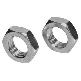 M18 Flachmuttern Edelstahl A4-40 DIN 439 Sechskantmuttern niedrige Form