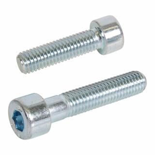 100 Innensechskantschrauben Zylinderkopf DIN 912 verzinkt 10x20